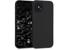 Coque iPhone 12/12 Pro Black Matte Flex