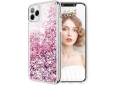 Coque iPhone 11 Pro Max Liquid-Rose