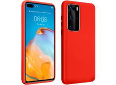 Coque Huawei P40 Pro Red Matte Flex