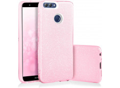 Coque Huawei P Smart Glitter Protect-Rose