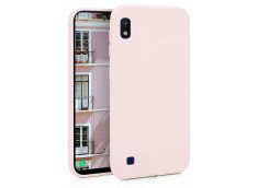 Coque Samsung Galaxy A10 Light Pink Matte Flex