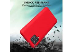 Coque Samsung Galaxy A72 Red Matte Flex