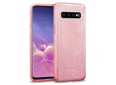 Coque Samsung Galaxy S10 Glitter Protect-Rose
