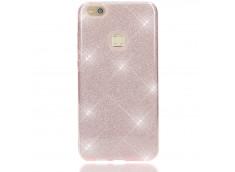 Coque Huawei P10 Lite Glitter Protect-Rose