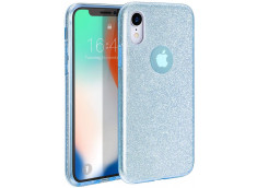 Coque iPhone X/XS Glitter Protect-Bleu