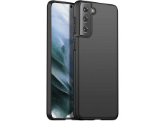 Coque Samsung Galaxy S21 Ultra Black Matte Flex