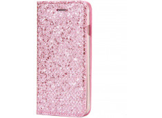 Etui iPhone XR Slim Glitter-Rose
