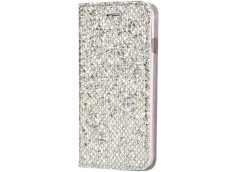 Etui iPhone X/XS Slim Glitter-Argent