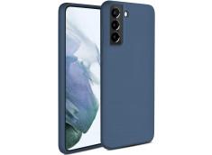 Coque Samsung Galaxy S21 Blue Navy Matte Flex