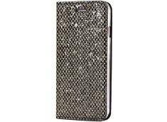 Etui iPhone 7 / iPhone 8 Slim Glitter-Noir