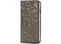 Etui iPhone XR Slim Glitter-Noir