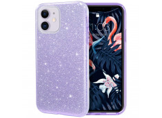Coque iPhone 11 Pro Max Glitter Protect-Violet