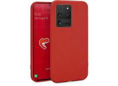 Coque Samsung Galaxy S20 Ultra Red Matte Flex
