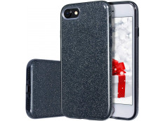 Coque iPhone 7 / iPhone 8/ SE 2020 Glitter Protect-Noir