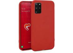 Coque Samsung Galaxy S20 Plus Red Matte Flex