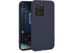 Coque Samsung Galaxy S20 Ultra Blue Navy Matte Flex