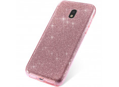 Coque Samsung Galaxy J3 2017 Glitter Protect-Rose
