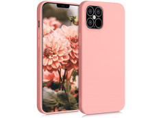Coque iPhone 12/12 Pro Pink Matte Flex