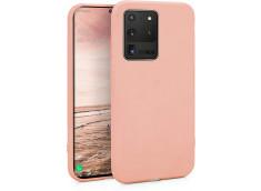 Coque Samsung Galaxy S20 Ultra Light Pink Matte Flex