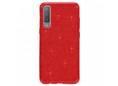 Coque Samsung Galaxy A80 Glitter Protect-Rouge