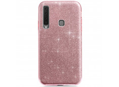 Coque Samsung Galaxy A9 2018 Glitter Protect-Rose