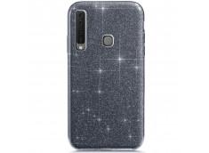 Coque Samsung Galaxy A9 2018 Glitter Protect-Noir