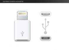 Adaptateur Micro USB / Lightning - iPhone 5 / iPad/ iPod