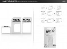 Nano Sim Adapter by Noosy