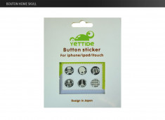 Pack 6 Stickers iPhone/iPad/iPod Touch Boutons Home-Japan-Signs