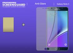 Film protecteur Samsung Galaxy Note 5 Anti-Reflet