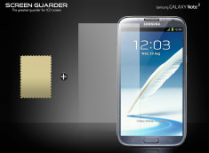 Kit 1 film protecteur ScreenGuard pour Galaxy Note 2