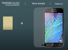 Film Protecteur Samsung Galaxy J5 en Verre Trempé