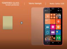 Film protecteur Nokia Lumia 1320 en verre trempé