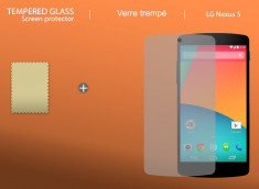 Film protecteur LG Nexus 5 en Verre Trempé