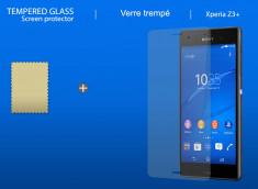 Film protecteur Sony Xpéria Z3 Plus en verre trempé