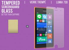Film protecteur Nokia Lumia 730/735 en verre trempé
