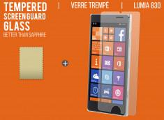 Film protecteur Nokia Lumia 830 en verre trempé