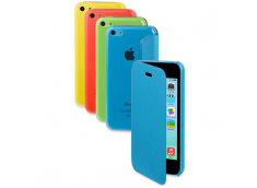 Etui iPhone 5C Folio Cover Translucide by Moxie