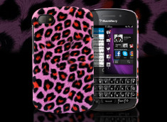 Coque Blackberry Q10 Cheetah Case pink