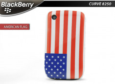 Coque BlackBerry Curve 8520/9300 Drapeau USA