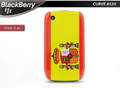 Coque BlackBerry Curve 8520/9300 Drapeau Espagne