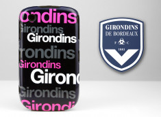 Coque Officielle Blackberry 8520 Girondins de Bordeaux - Typo