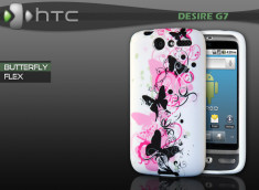 "Coque HTC Desire G7 ""Butterfly Flex"""