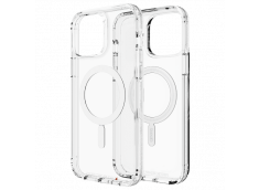 Coque iPhone 13 GEAR4 D30 MAGSAFE SNAP antibactérien et antichoc-Clear