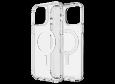 Coque iPhone 13 Pro GEAR4 D30 MAGSAFE SNAP antibactérien et antichoc-Clear