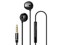 Ecouteurs Stereo Baseus Haute Qualité Sonore avec télécommande-Noir