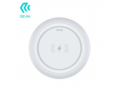 Chargeur Premium Induction QI 10W by Devia-Blanc
