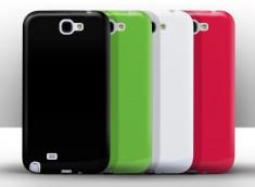 Coque Samsung Galaxy Note 2 Silicone Glossy