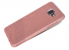 Coque Samsung Galaxy A3 2016 Glitter Protect-Rose