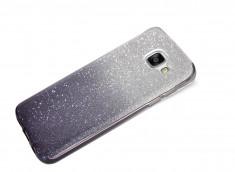 Coque Samsung Galaxy A3 2017 Glitter Wave-Noir